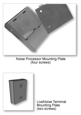 mounting the lnt-320 noise monitor